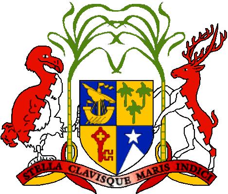 state emblem Republic of Mauritius