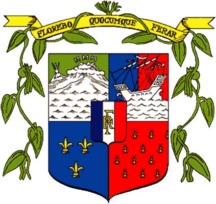 state emblem Reunion