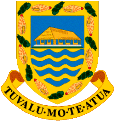 state emblem Constitutional Monarchy of Tuvalu