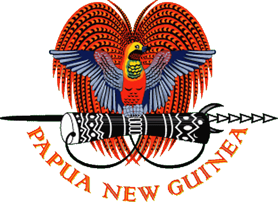 state emblem Independent State of Papua New Guinea