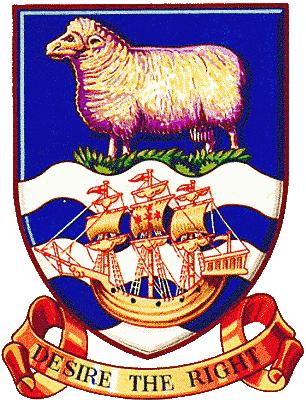 state emblem Falkland Islands