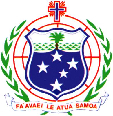 state emblem Western Samoa