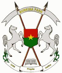 state emblem Burkina Faso