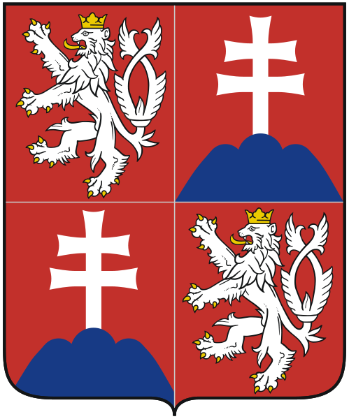 state emblem Czech and Slovak Federal Republic
