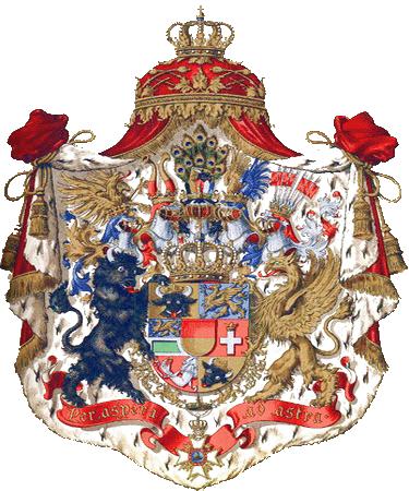 state emblem Grand Duchy of Mecklenburg-Schwerin