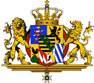 state emblem Grand Duchy of Saxe-Weimar-Eisenach