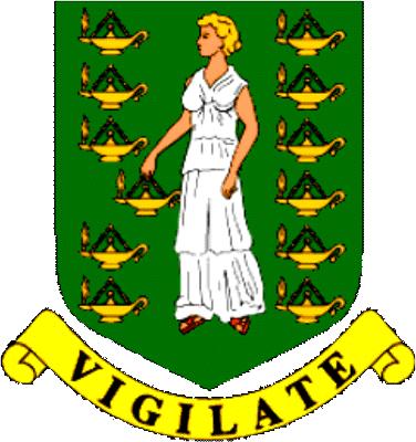 state emblem British Virgin Islands