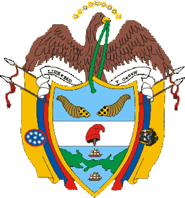 state emblem United States of Colombia