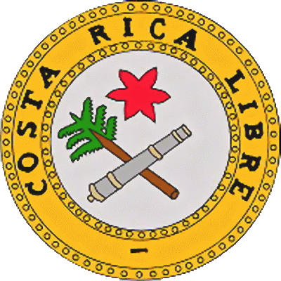 The State Symbolics Of The Costa Rica Flags Emblems
