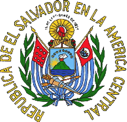 The State Symbolics Of The Republic Of El Salvador Flags Emblems