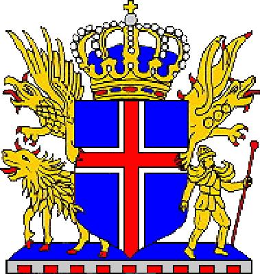 state emblem Iceland