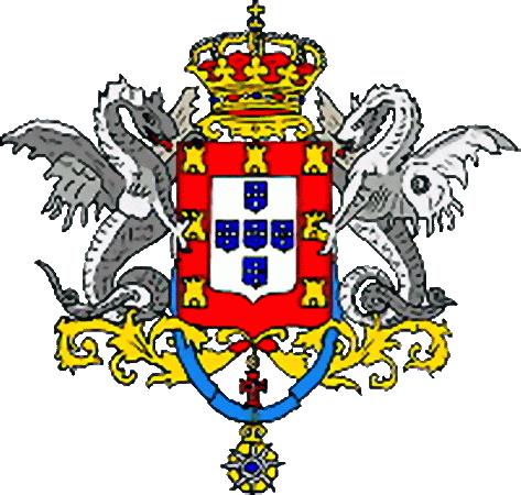 state emblem Kingdom of Portugal and Algarves