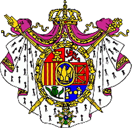 state emblem Kingdom of Spain 1st
