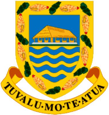 state emblem British Tuvalu