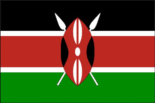 state flag Republic of Kenya