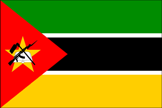 state flag Republic of Mozambique