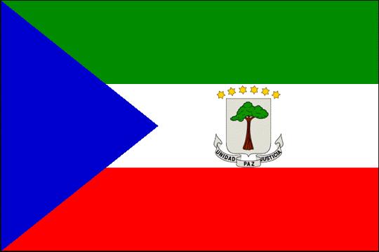 state flag Republic of Equatorial Guinea