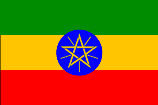 state flag Federal Democratic Republic of Ethiopia