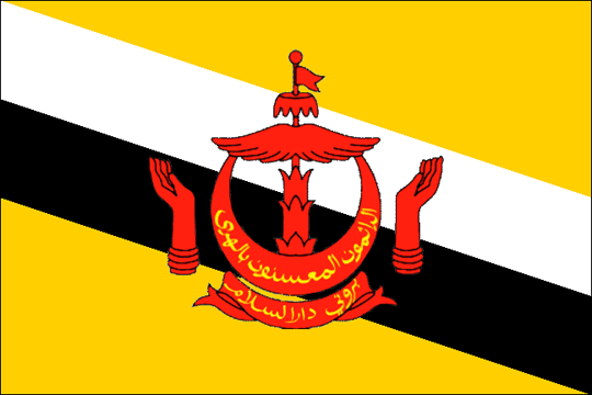 image flag State of Brunei, Abode of Peace