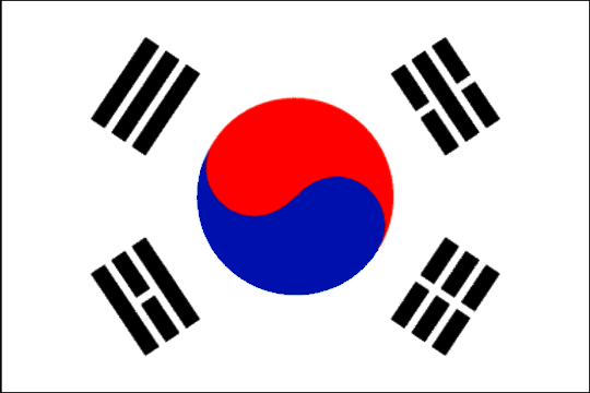 image flag Republic of Korea
