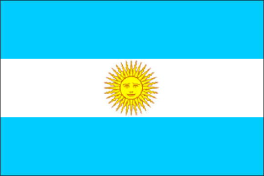 image flag Argentine Republic