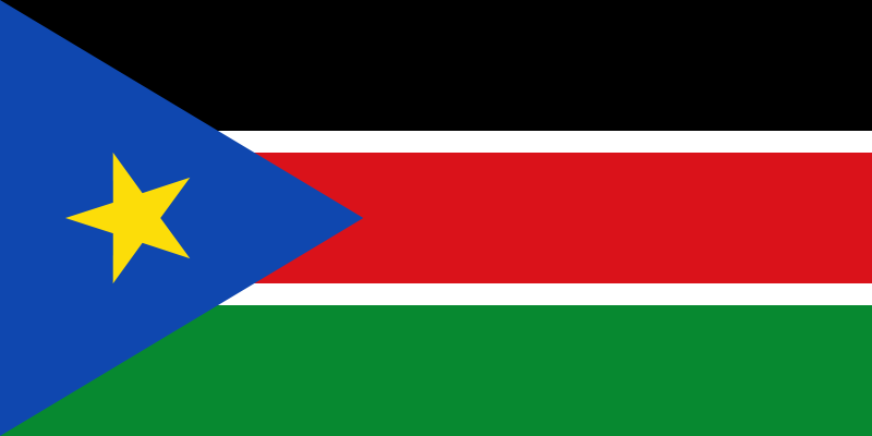 image flag Republic of South Sudan