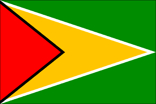 image flag Cooperative Republic of Guyana