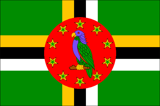 state flag Commonwealth of Dominica