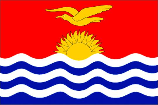 state flag Republic of Kiribati
