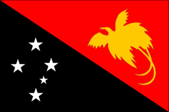 image flag Independent State of Papua New Guinea