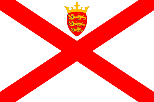 state flag Bailiwick of Jersey