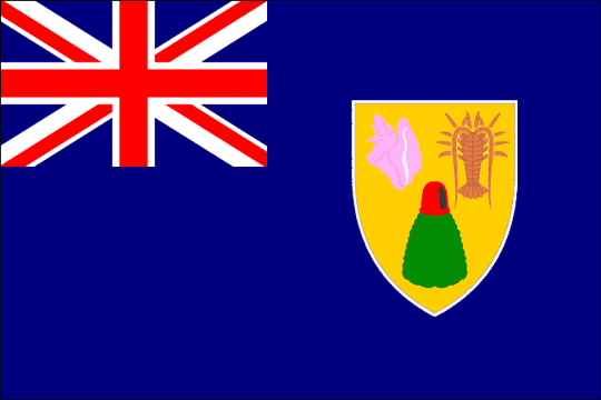 state flag Turks and Caicos Islands