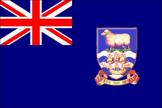 state flag Falkland Islands