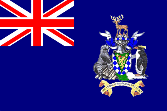 state flag South Georgia And The South Sandwich Islands