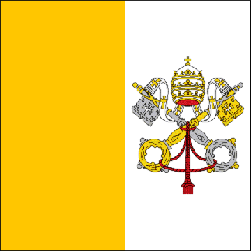 state flag State of the Vatican City