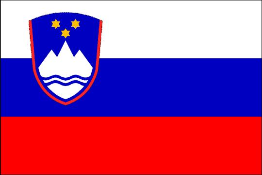 state flag Republic of Slovenia