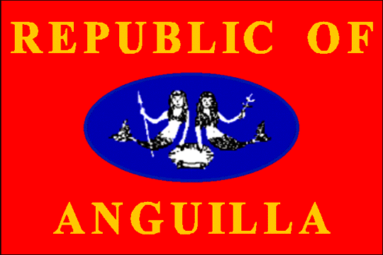 state flag Republic of Anguilla