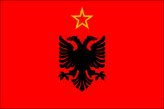 image flag Republic of Albania