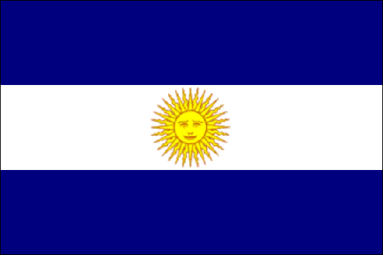 state flag United Provinces of the Rio de la Plata