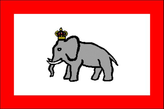 state flag Kingdom of Dahomey
