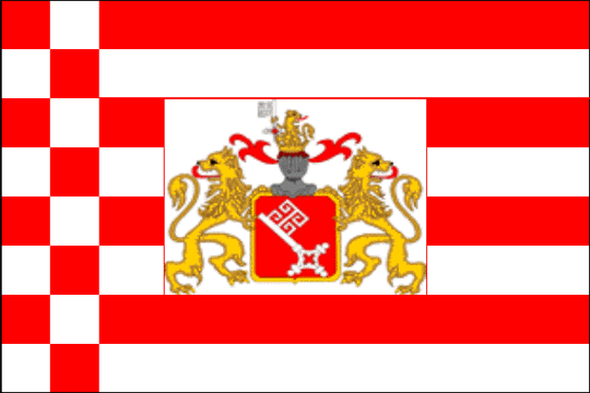 state flag Free Hanseatic City of Bremen