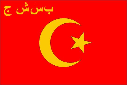 state flag Bukharan Soviet Socialist Republic