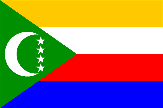 image flag Union of the Comoros