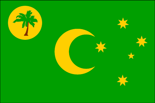 ... (Keeling) Islands, its brief history, flags, emblems and currencies