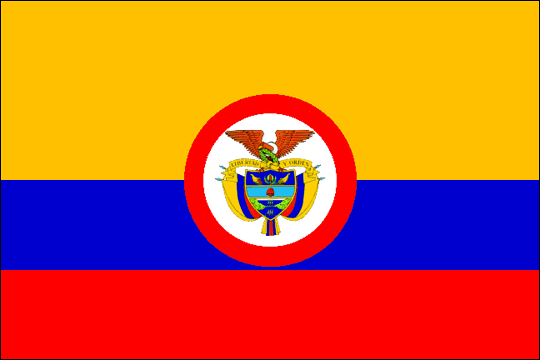 image flag Republic of Colombia