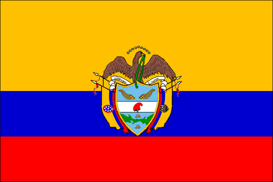 state flag United States of Colombia