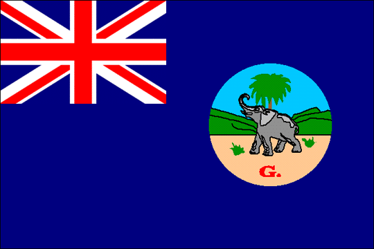 state flag Gambia