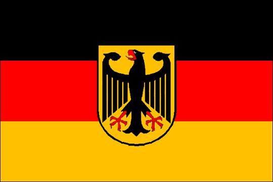 немецкий флаг фото