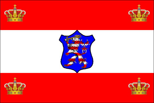 state flag Grand Duchy of Hesse and by Rhine