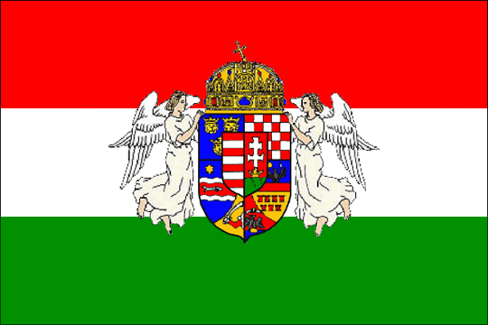 state flag Kingdom of Hungary